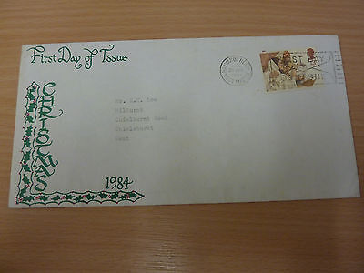 Christmas 1984 UK First Day Cover
