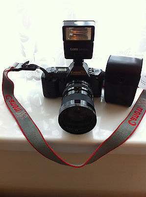 Cannon T70 Multiple Program Ae Duel Metering System With 35X105 Mm Lens