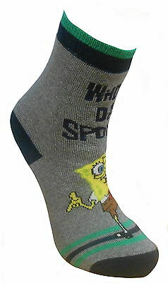**ref515 Spongebob Socks Reduced To Sell 9-12 Mixed