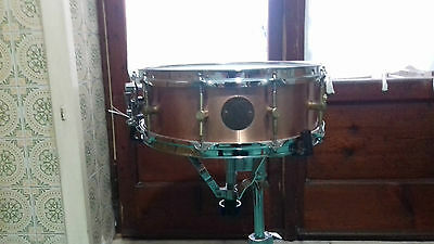 Rullante Alto Ritmo In Rame I 14X5,5 Made In Italy Design Spizzichino Snare
