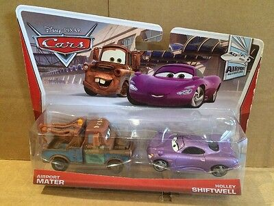 DISNEY CARS DIECAST - Airport Mater & Holley Shiftwell - VHTF - Combined Postage