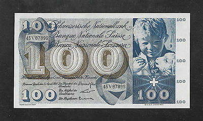 UNC- 100 francs 1964. SWITZERLAND