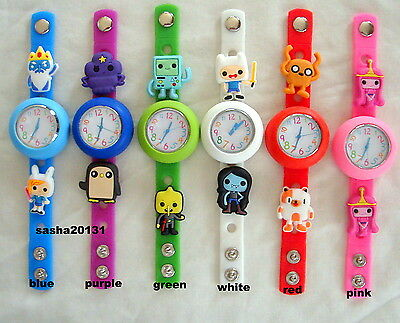 Adventure Time Jibbitz Band Watch  & A Set Of 11 Shoe  Charms, Brand New