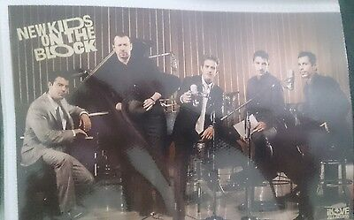 NKOTB NEW KIDS ON THE BLOCK 5 Official Postcards