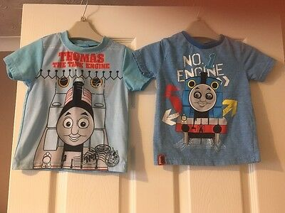thomas the tank engine tops x2 18-24 months