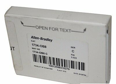 Allen Bradley 1734 PointIO 1734-OB8 24V DC8 Channel Source Output Module NEW