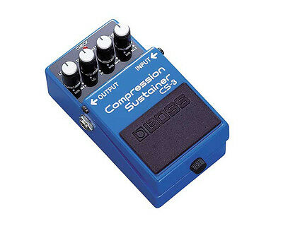 Boss CS 3 Compression Sustain Electric Guitar Effects Pedal CS3 CS-3