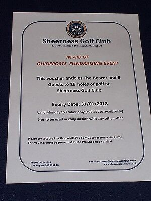 Round of Golf for 4 at Sheerness Golf Club