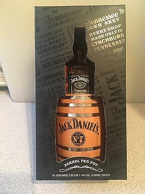 Jack Daniel's 2016 Barrel Pen Pot Gift Set.Brand New.No Alcohol.