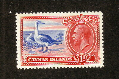 Cayman Islands--#87 MNH--Red-footed Boobies--1935