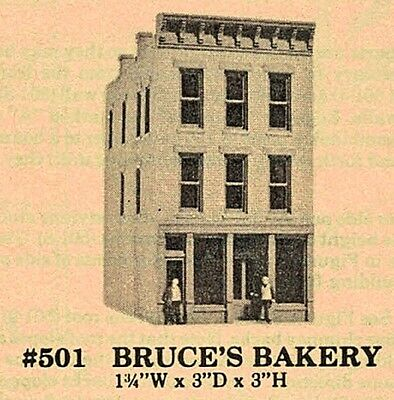 "NOS 1 x DPM ""Bruces Bakery"" Unassembled Plastic Model Structure Kit NO BOX"