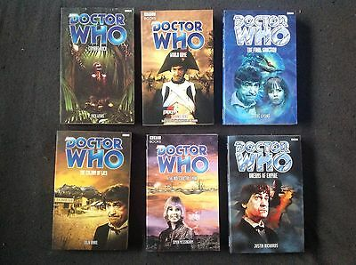 6 x Doctor Who BBC Books 2nd Dr Novels - Patrick Troughton