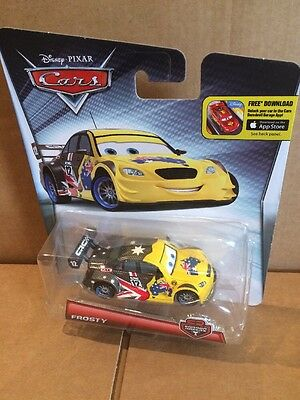 DISNEY CARS DIECAST - Frosty  Carbon Racer - Rare UK - Combined Postage