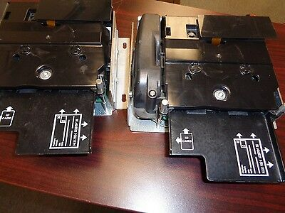 Lot of 2 Perftech 6100 Compact Kiosk Check Scanner