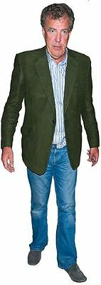 Jeremy Clarkson Cardboard Cutout (life size OR mini size). Standee. Stand Up.