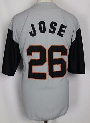 Jose #26 Vintage Bbob Baseball Jersey Shirt Mens Large