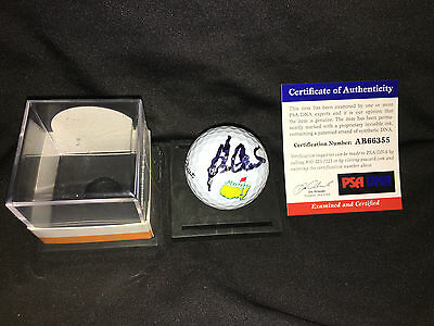Ben Crenshaw Signed/Auto Official Masters Golf Ball 1984 & 1995 Champ PSA/DNA