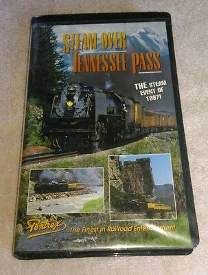 Steam Over Tennessee Pass VHS Pentrex Clamshell The Steam Event Of 1997
