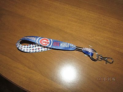 Chicago Cubs, 2016 World Series Champions. Key Ring
