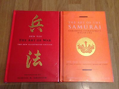 Sun Tzu The Art Of War / The Art Of The Samurai - Hagakure (2 x hardback books)