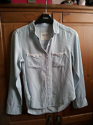girls abercromblie and fitch denim shirt appros 10/11 years