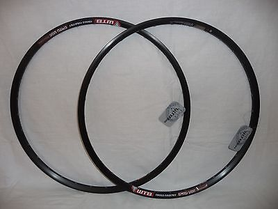 "WTB Speed Disc Cross Country 26"" MTB pair of rims."