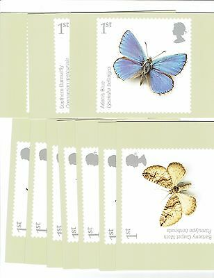 GB 2008, PHQ 310, set of 10 Cards, Insects, Mint Condition. Freepost
