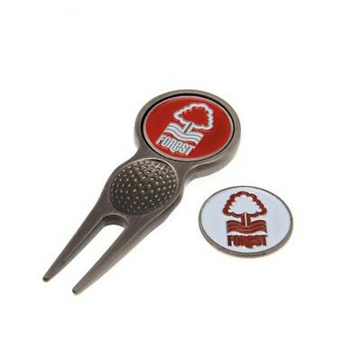 Nottingham Forest F.c. Divot Tool And Marker