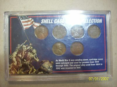 Shell Case Penny Collection