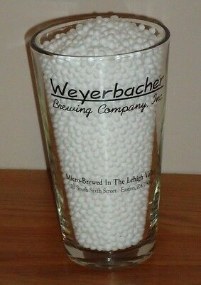WEYERBACHER Brewing Company Inc  beer glass 1 pt Easton PA