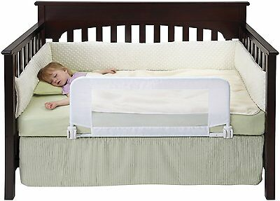 Bed Rail By Dex Baby for Safe Sleeper Convertible Crib