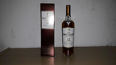 Macallan 12y Sherry Oak, Single Malt Whisky, 0,7L, 40% Vol.