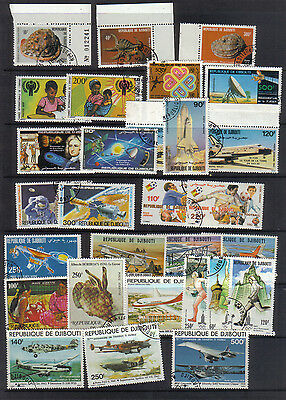 Djibouti Fourteen used sets