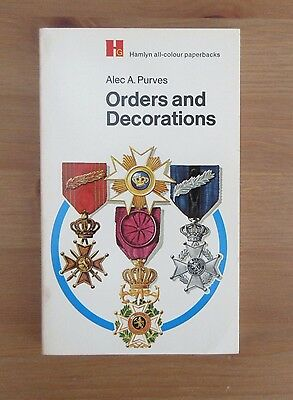 old reference BOOK ORDERS DECORATIONS alec purves