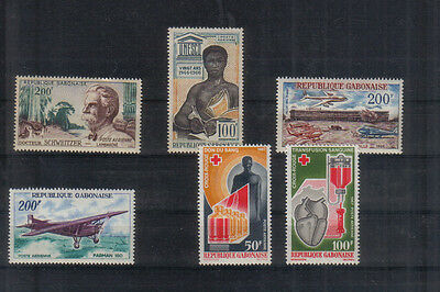 Gabon 1960-67 Small unmounted mint collection
