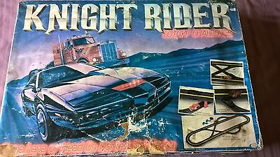 Knight Rider Challenge Slot Car Set by Ideal 1981