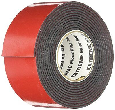 Scotch Extreme Mounting Tape, 1 by 60-Inch, Black