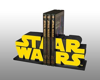 STAR WARS Classic GENTLE GIANT Official LOGO BOOKENDS Statue SET Limited Edition