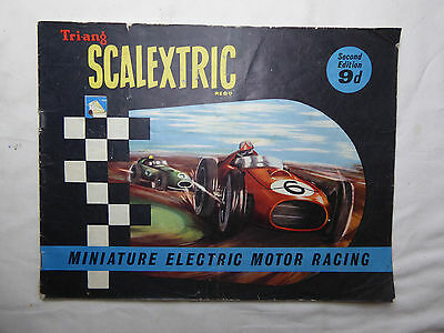 SCALEXTRIC Catalogue (original) 2nd Edition