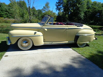 1948 Ford Other  1948 Ford Convertible Frame off Restored 7300 miles Karate Kid
