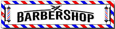 Barber Shop Metal Sign, Retro,shaves And Cuts,tattoo,hair, Scissors