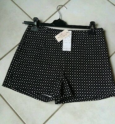 Short jacquard little miss captain taille S neuf