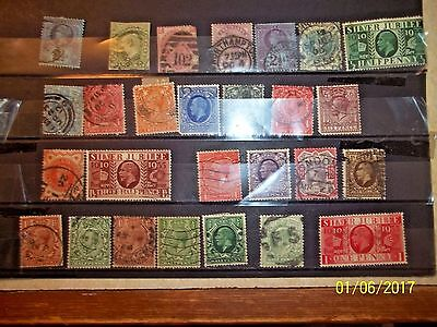 A Beautiful Selection Of Stamps  From 0Ld Gb
