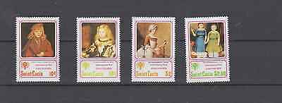 St Lucia 1979 Year Of The Child Set Mint Never Hinged