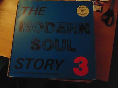The Modern Soul Story 3 double lp northern soul