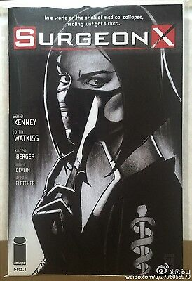 Surgeon X #1 Image Comics 1st Print Sold Out
