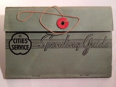 Cities Service 1938 Spending Guide Booklet