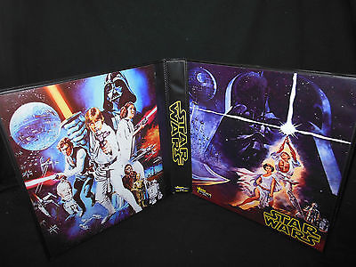 Custom Made Star Wars A New Hope Trading Card Album Binder Graphics Only