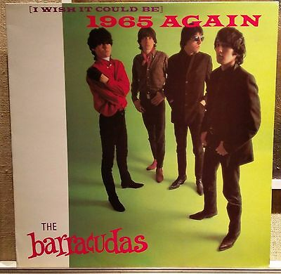 Barracudas-(I Wish It Could Be) 1965 Again LP EX+ France 1985 Green label