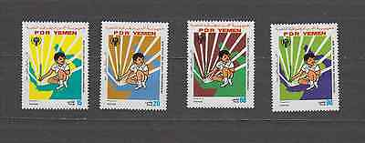 Yemen 1979 Year Of The Child Set Mint Never Hinged